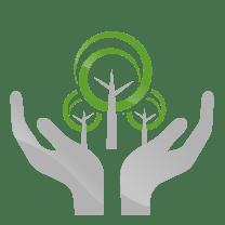 hands tress icon