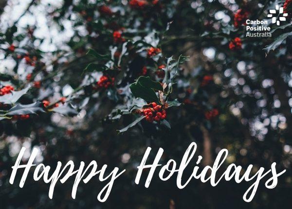 Happy Holidays ecard donation